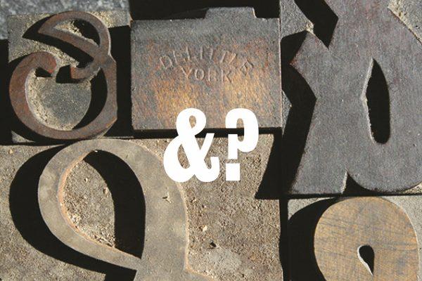 Nerd Nite ampersand title slide