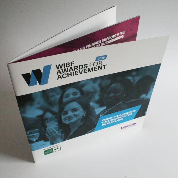WIBF Awards for Achievement brochure 2019 (cover topshot)